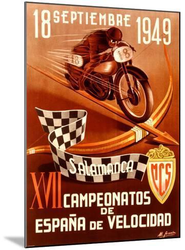 Salamanca Moto-Gracia-Mounted Giclee Print