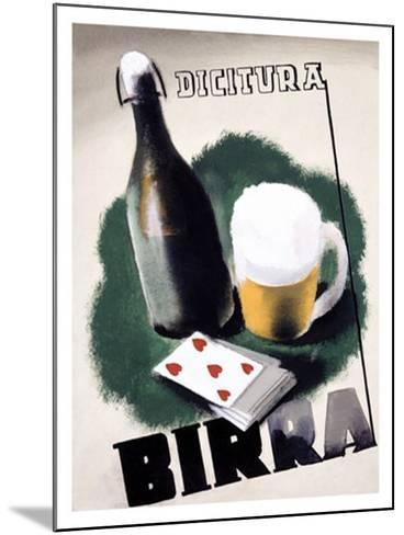 Birra Maquette--Mounted Giclee Print