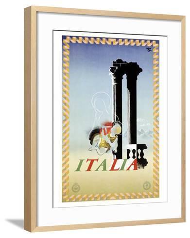 Italy-Adolphe Mouron Cassandre-Framed Art Print