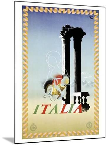 Italy-Adolphe Mouron Cassandre-Mounted Giclee Print
