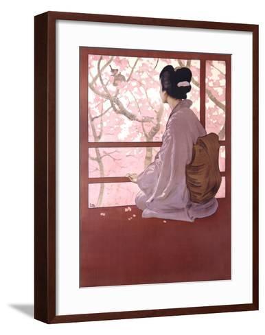 Madama Butterfly-Leopoldo Metlicovitz-Framed Art Print