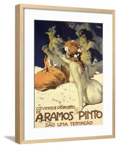A. Ramos Pinto-Leopoldo Metlicovitz-Framed Art Print