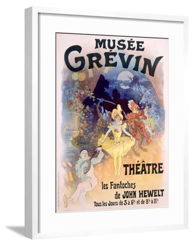 Musee Grevin, Fantoches de John Hewelt-Jules Ch?ret-Framed Art Print