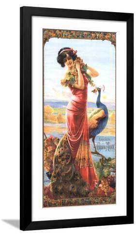 Cordial-Medoc-Gaspar Camps-Framed Art Print