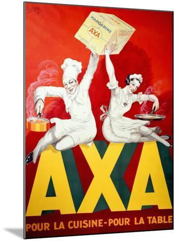 AXA Margerine-Robys (Robert Wolff)-Mounted Giclee Print