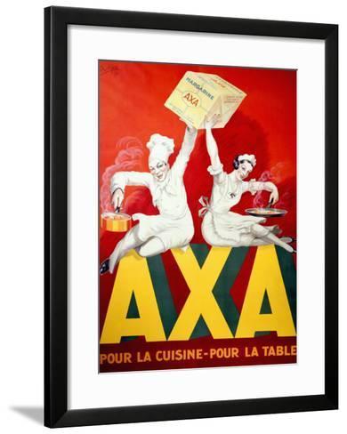AXA Margerine-Robys (Robert Wolff)-Framed Art Print
