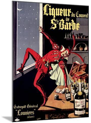 Liqueur Ste. Barbe- Conchon-Mounted Giclee Print