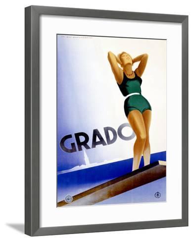 Grado-Marcello Dudovich-Framed Art Print