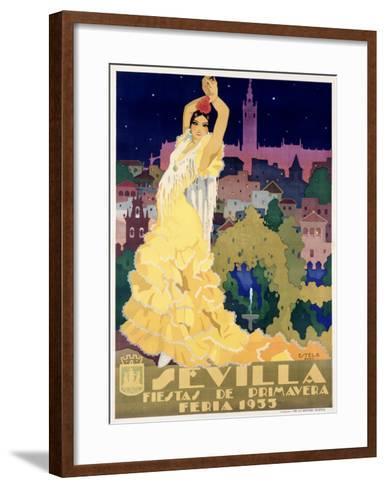 Sevilla-Estela-Framed Art Print