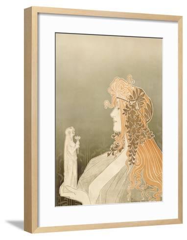 Cercle Artistique de Schaerbeek-Privat Livemont-Framed Art Print