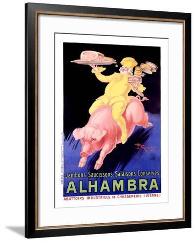 Alhambra Pork Bacon Sausage-Henry Le Monnier-Framed Art Print