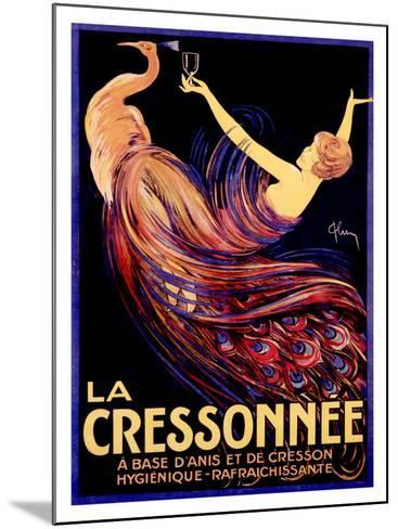 La Cressonnee-Archie Gunn-Mounted Giclee Print