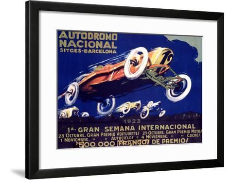 Autodromo National--Framed Art Print