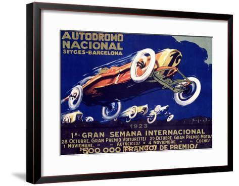 Autodromo National--Framed Art Print