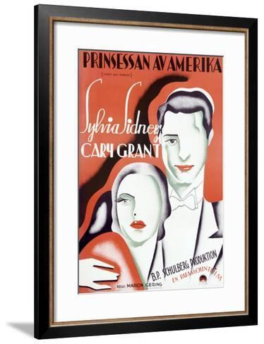 Princessan av Amerika--Framed Art Print
