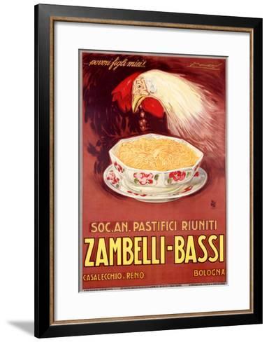 Zambelli-Bassi-Achille Luciano Mauzan-Framed Art Print