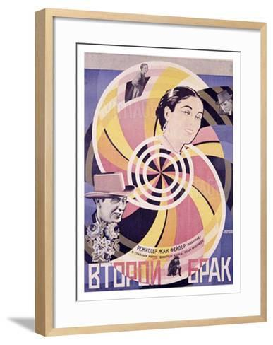 Second Marriage- Borisov & Prusakov-Framed Art Print