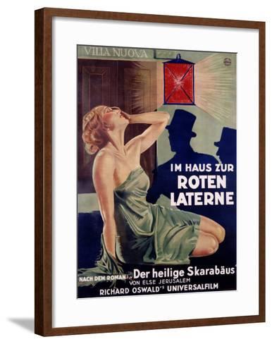 Im Haus Zur Roten Laterne-Hans Neumann-Framed Art Print