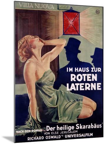 Im Haus Zur Roten Laterne-Hans Neumann-Mounted Giclee Print