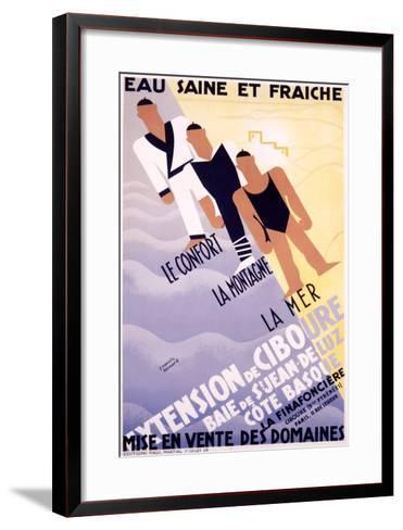Extension de Ciboure-Francis Bernard-Framed Art Print
