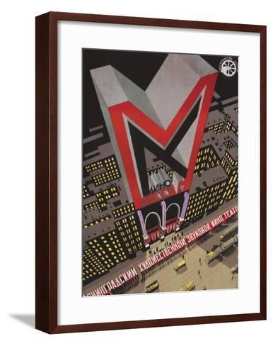 Kino Massam, Movies for the Masses-Auflage von Bograd-Framed Art Print