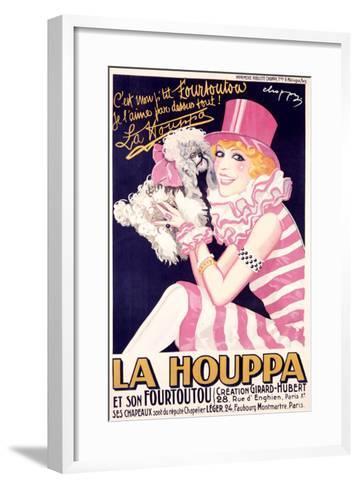 La Houppa-Choppy-Framed Art Print