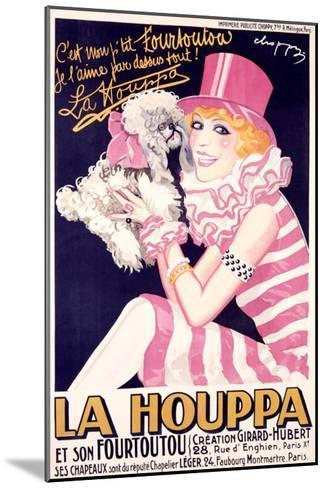 La Houppa-Choppy-Mounted Giclee Print