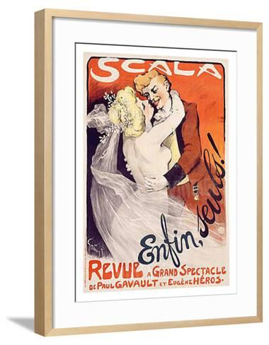 Scala, Enfin, Seuls!-Jules-Alexandre Gr?n-Framed Art Print