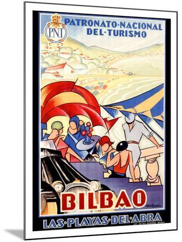 Bilbao-Colde Guezala-Mounted Giclee Print
