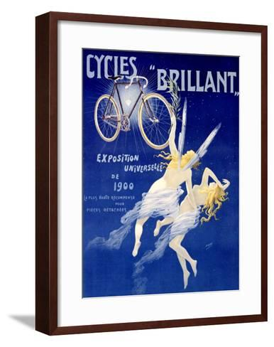 Cycles Brillant-Henri Gray-Framed Art Print