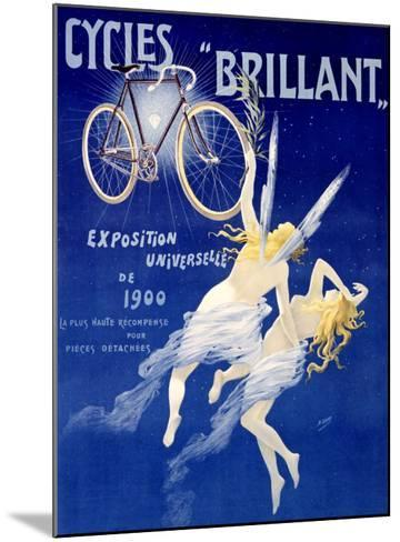 Cycles Brillant-Henri Gray-Mounted Giclee Print