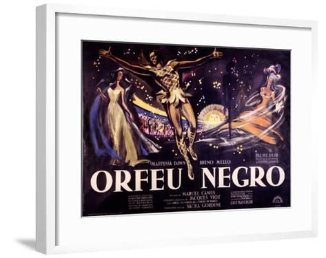 Orfeu Negro-Georges Allard-Framed Art Print