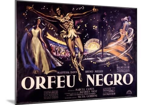 Orfeu Negro-Georges Allard-Mounted Giclee Print