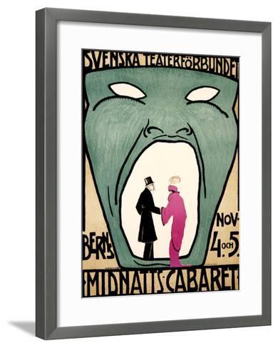 Midnight Cabaret, Berns--Framed Art Print