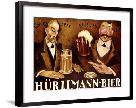 Hurlimann Bier--Framed Art Print