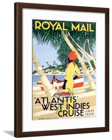 Royal Mail, West Indies--Framed Art Print
