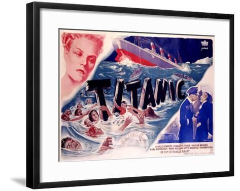 Titanic--Framed Art Print