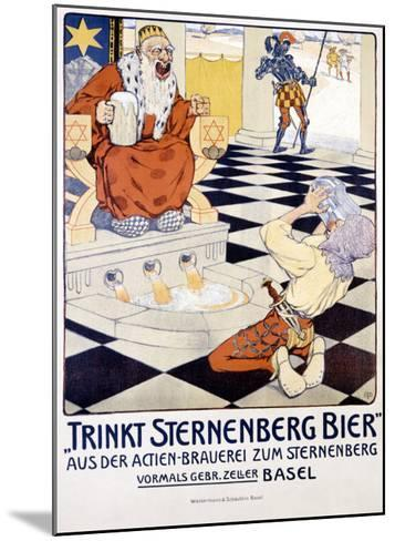 Trinkt Sternenberg Bier--Mounted Giclee Print