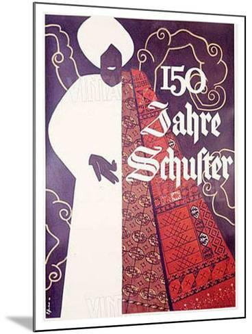 150 Jahre Schuster--Mounted Giclee Print