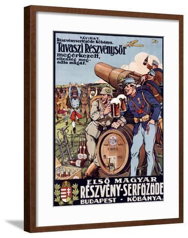 Reszveny Serfozde-Paul Foldes-Framed Art Print