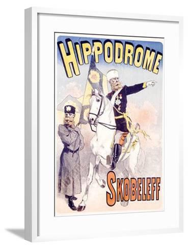 Hippodrome Skobeleff-Jules Ch?ret-Framed Art Print