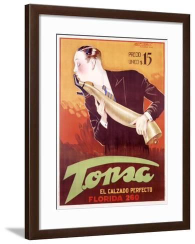 Tonsa-Achille Luciano Mauzan-Framed Art Print
