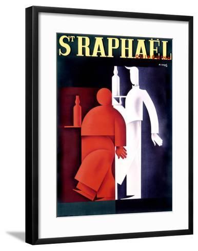St. Raphael, Quinquina-Charles Loupot-Framed Art Print