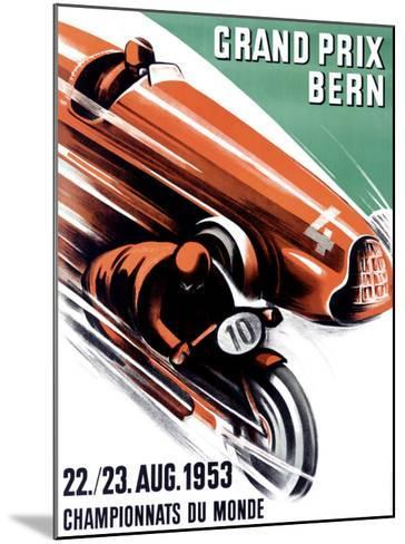 Bern Grand Prix, c.1953-Ernst Ruprecht-Mounted Giclee Print