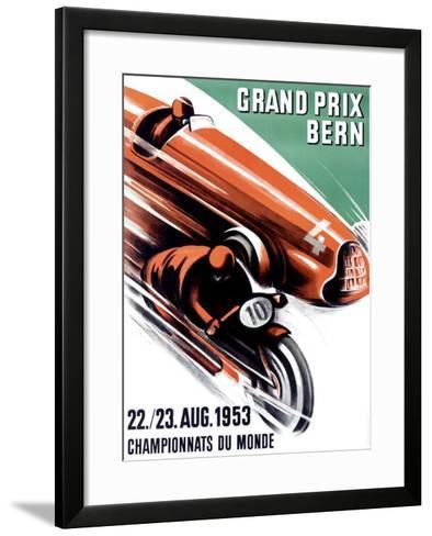 Bern Grand Prix, c.1953-Ernst Ruprecht-Framed Art Print