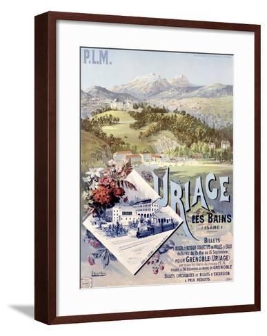 Uriage les Bains-Hugo D'Alesi-Framed Art Print
