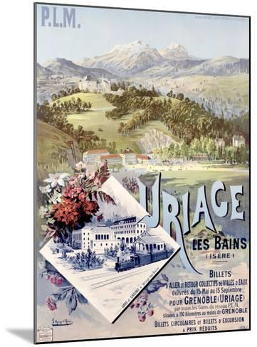 Uriage les Bains-Hugo D'Alesi-Mounted Giclee Print