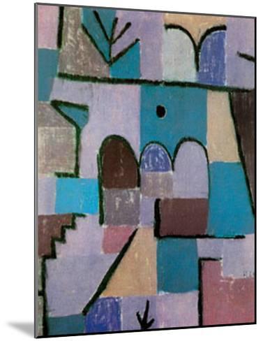 Garten im Orient, c.1937-Paul Klee-Mounted Art Print