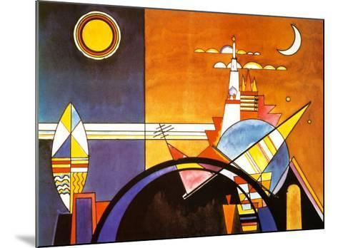 La Grande Piazza a Kiev-Wassily Kandinsky-Mounted Art Print