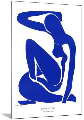 Nu Bleu I, c.1952-Henri Matisse-Mounted Art Print